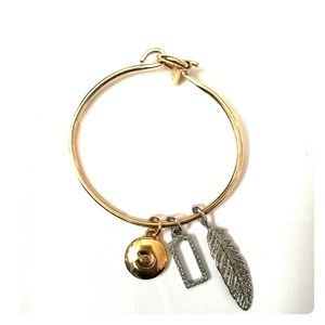Authentic Coach Charm Bangle